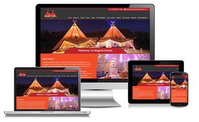 Magical Events Website