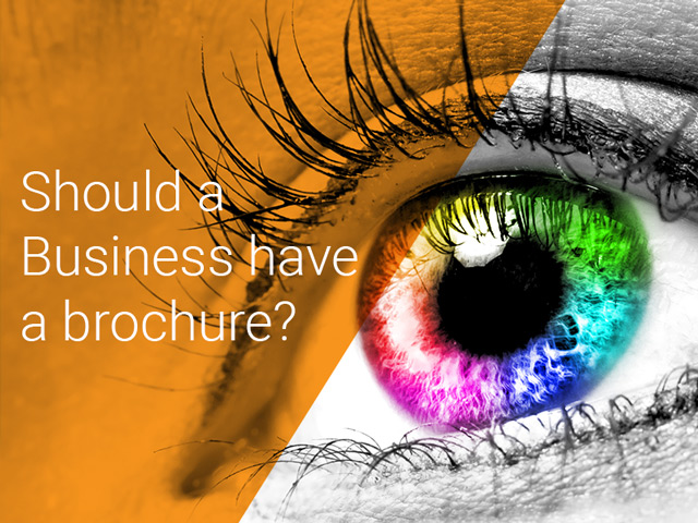 Should a Business have a brochure?
