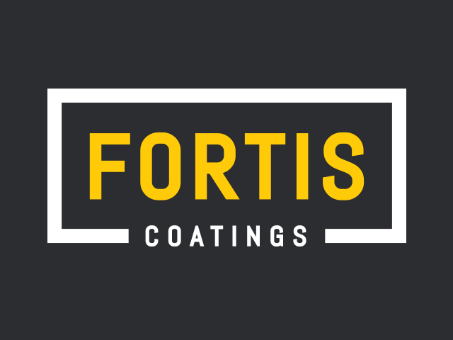 Fortis Coatings logo design