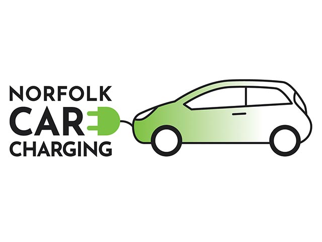 Norfolk Car Charging Logo