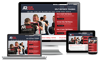 AR Krav Maga Website design
